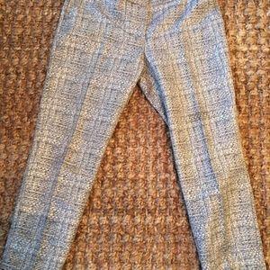 Boden Women Metallic Fiber Cafe Pants.Size 8R.